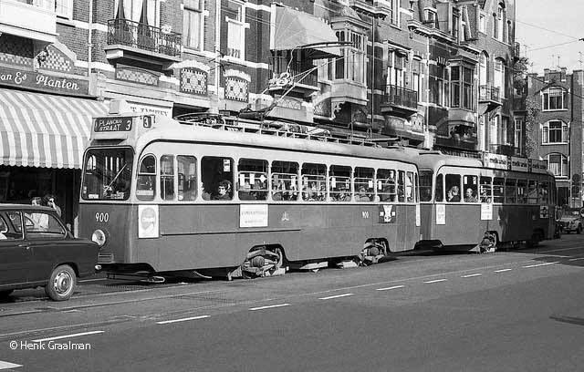 Van Baerlestraat Amsterdam (jaartal  1960 tot 1970)   Foto u0026#39;s SERC