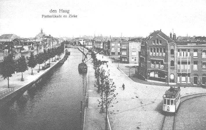 Fabulous Pletterijkade Den Haag (jaartal: 1920 tot 1930) - Foto's SERC #DR23