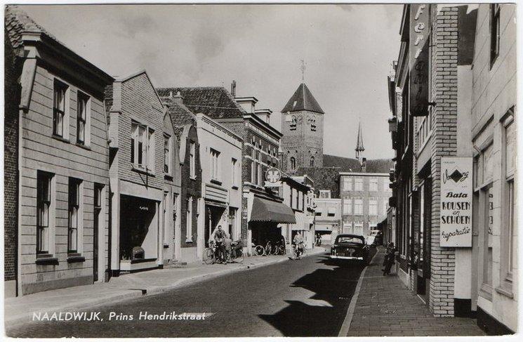 Prins Hendrikstraat Naaldwijk (jaartal: 1960 tot 1970