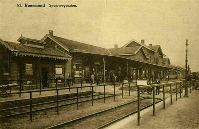 Station Roermond Jaartal 1930 Tot 1940 Foto S Serc