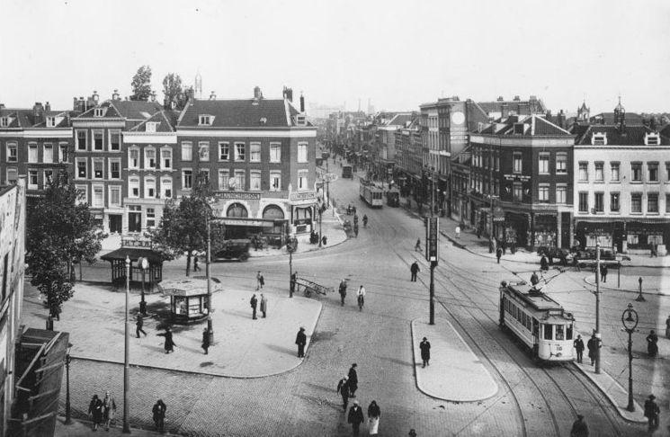 Goudsesingel Rotterdam (jaartal  1945 tot 1950)   Foto u0026#39;s SERC