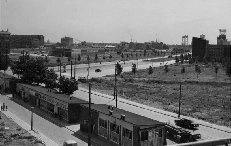 Mariniersweg Rotterdam (jaartal  1950 tot 1960)   Foto u0026#39;s SERC