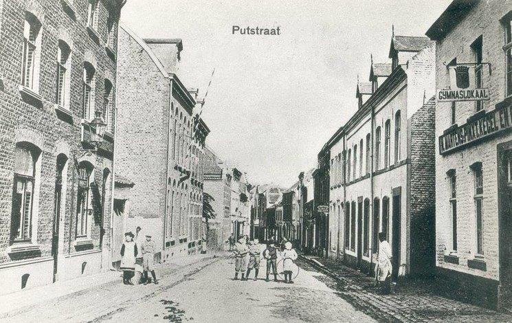 Putstraat Sittard (jaartal  1920 tot 1930)   Foto u0026#39;s SERC
