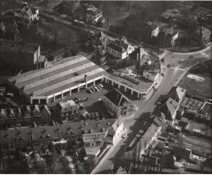 Garage Nefkens Amersfoort : Luchtfotos amersfoort jaartal: 1950 tot 1960 fotos serc