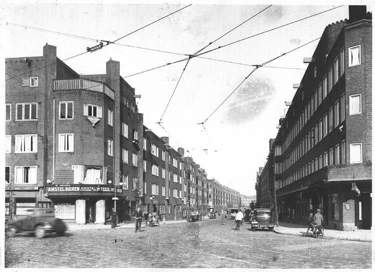 witte de withstraat amsterdam (jaartal: 1930 tot 1940) - foto's serc