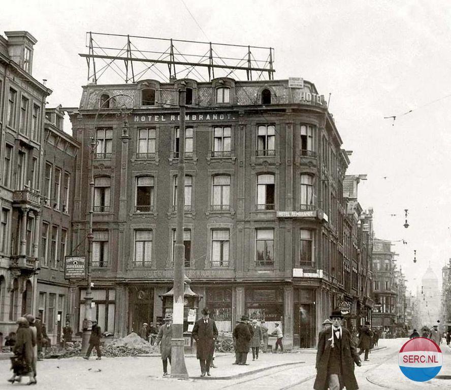 Rembrandtplein Amsterdam Jaartal 1930 Tot 1940 Foto 39 S