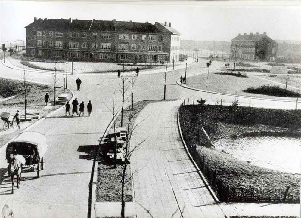 Graslaan eind jaren '30