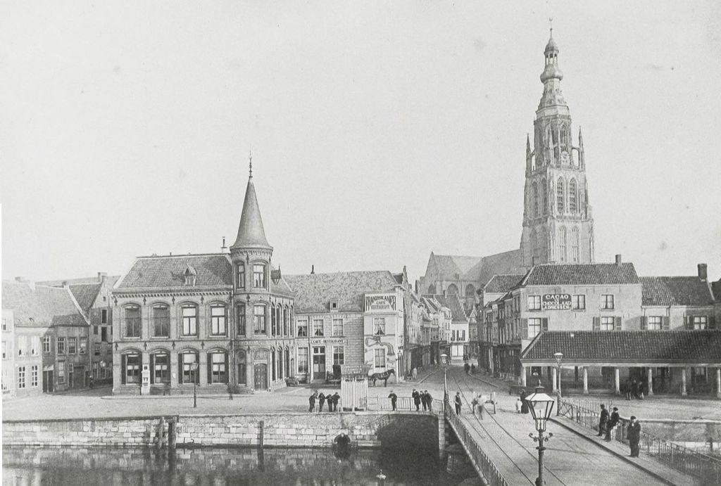 Голландия в картинках. Как менялся вид городов на протяжении веков