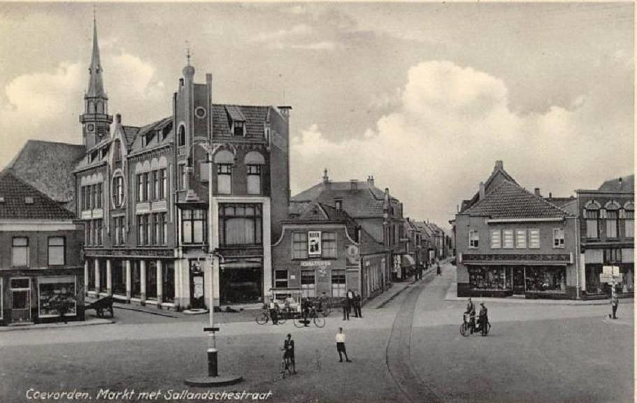 Holland And Holland >> Markt Coevorden (jaartal: 1930 tot 1940) - Foto's SERC