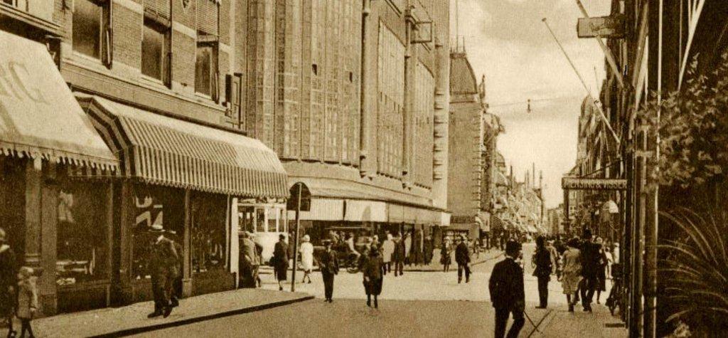 Magnifiek Wagenstraat Den Haag (jaartal: 1920 tot 1930) - Foto's SERC &GI58