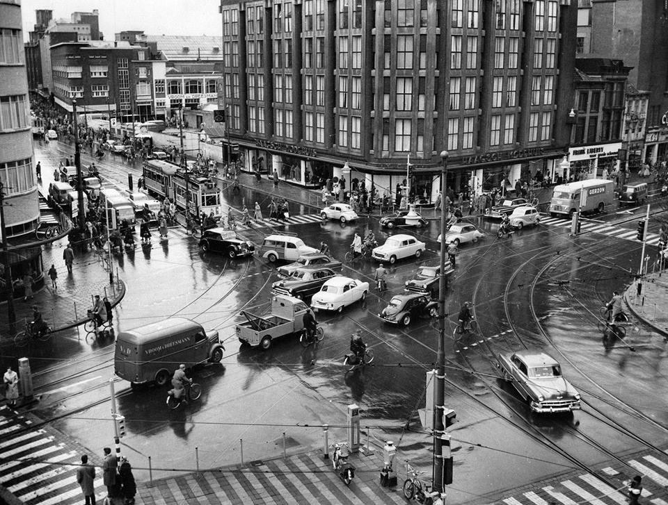 Extreem Grote Marktstraat Den Haag (jaartal: 1950 tot 1960) - Foto's SERC @QI21
