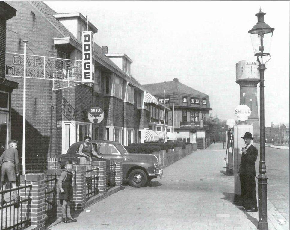 Garage Den Helder : Middenweg den helder jaartal: 1950 tot 1960 fotos serc