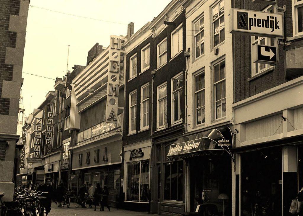 Voorstraat Dordrecht (jaartal: 1970 tot 1980) - Foto\'s SERC