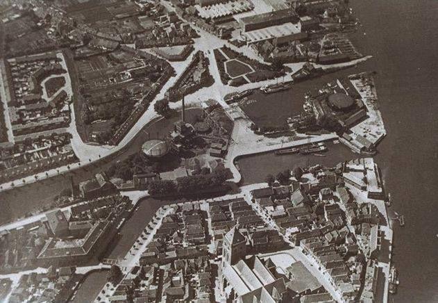 Holland And Holland >> Luchtfoto's Kampen (jaartal: 1930 tot 1940) - Foto's SERC