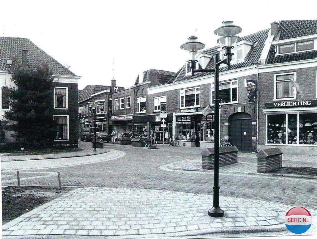 Langestraat Nijkerk (jaartal: 1970 tot 1980) - Foto\'s SERC