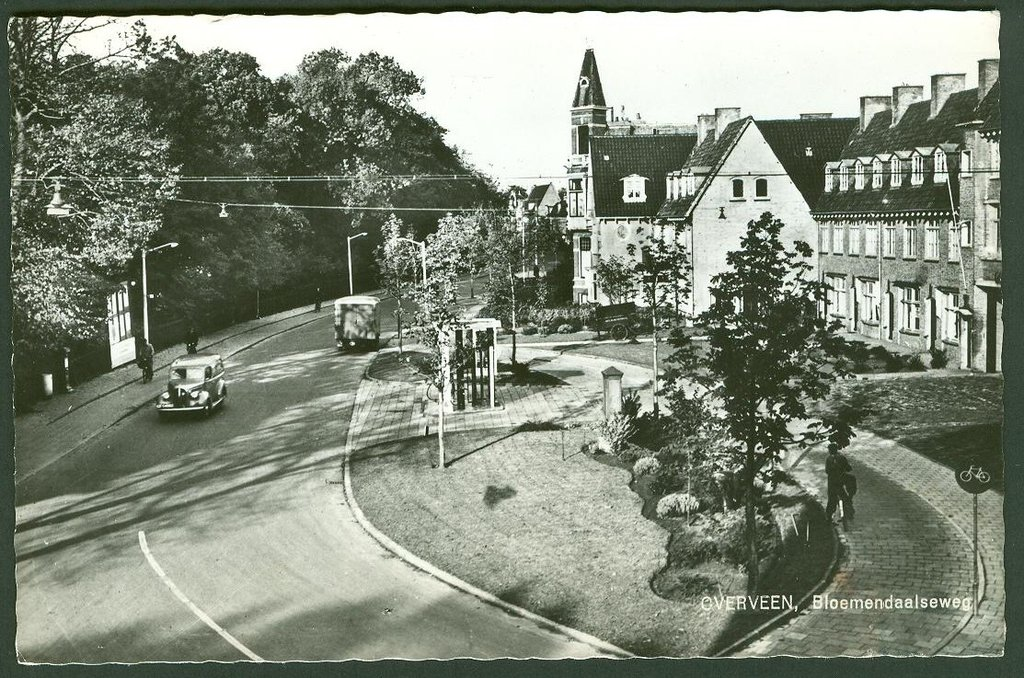 Holland And Holland >> Bloemendaalseweg Overveen (jaartal: 1960 tot 1970) - Foto ...
