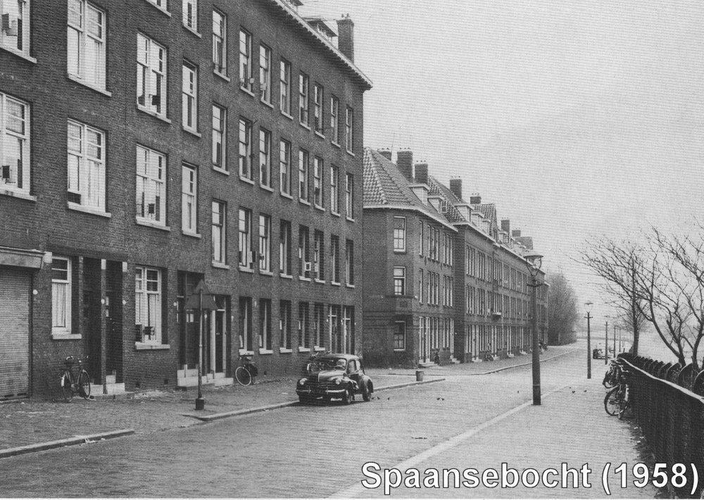 Spaansebocht Rotterdam (jaartal: 1950 tot 1960) - Foto's SERC