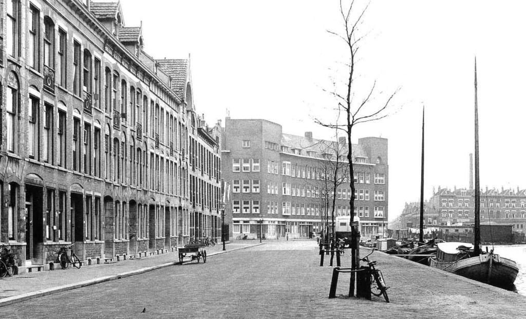 Zwaanshalskade Rotterdam (jaartal  1945 tot 1950)   Foto u0026#39;s SERC