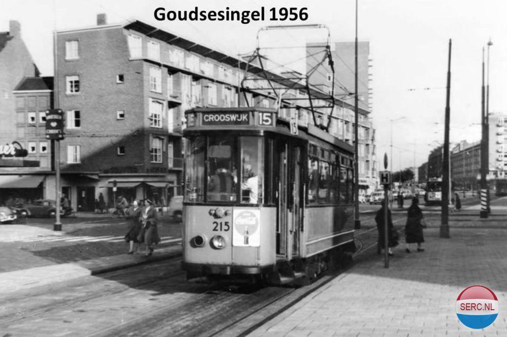 Goudsesingel Rotterdam (jaartal  1950 tot 1960)   Foto u0026#39;s SERC