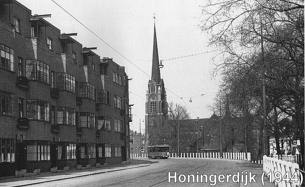 Honingerdijk Rotterdam (jaartal: 1940 tot 1945) - Foto's SERC